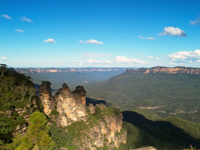 The Three Sisters in the Blue Mountains, Katoomba, Australia