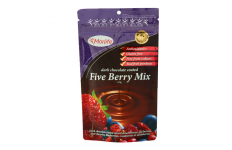 choc coated five berry mix