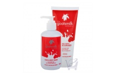 Hand & Body Wash, Moisturiser Set by Goatsmilk Company 240ml + 200ml