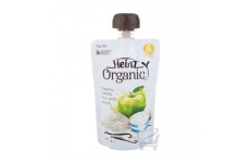 Organic Apple, Creamy Vanilla Rice  Baby Food 6 Mths Plus by Heinz 120g