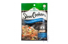 Slow Cookers Recipe Base  Country Chicken Casserole by  McCormick 40g