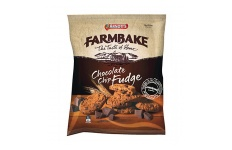 Farmbake Cookies Choc Chip Fudge by Arnott's 350g