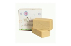 baby goats milk soap bar
