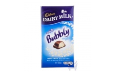 Mike White Bubbly Chocolate Block  by Cadbury 155g