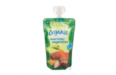 Organic Sweet Baby Vegetables Baby Food 4 Mths Plus by Heinz 120g