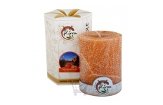 Australian Bush Palm Wax Pillar Candle