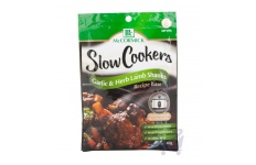 Slow Cookers Recipe Base Garlic & Herb Lamb Shanks by McCormick 40 g