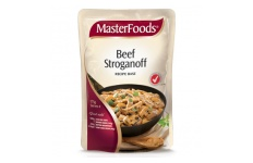 Beef Stroganoff Recipe base by MasterFoods 175g